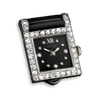 The stylish Cartier watch clip captures Art Deco artistry at its finest