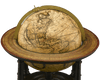 Dutch Terrestrial Table Globe by Gerard Valk
