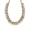 This lovely and unusual Sinu gold necklace includes an array of fantastic Coatimundi
