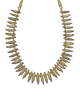 Pre-Columbian Sinu Gold and Bead Necklace