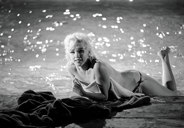 The famous 1962 poolside images from Something's Got To Give would be Monroe's last onset photoshoot