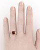 Certified by the GIA as Natural Fancy Deep Brown Orange, the diamond is a rare treasure