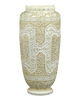 Ivory Cameo Glass Vases by Webb