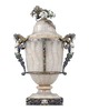 Viennese Agate and Enamel Covered Urn