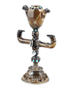 Viennese Agate and Jeweled Asian Totem Vase