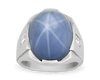 Cabochon Star Sapphire Ring, 28.00 Carats