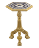 Neoclassical Blue John Table