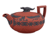 Rosso Antico Egyptian Teapot by Wedgwood