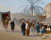 Marché au Caire by Charles-Théodore Frère
