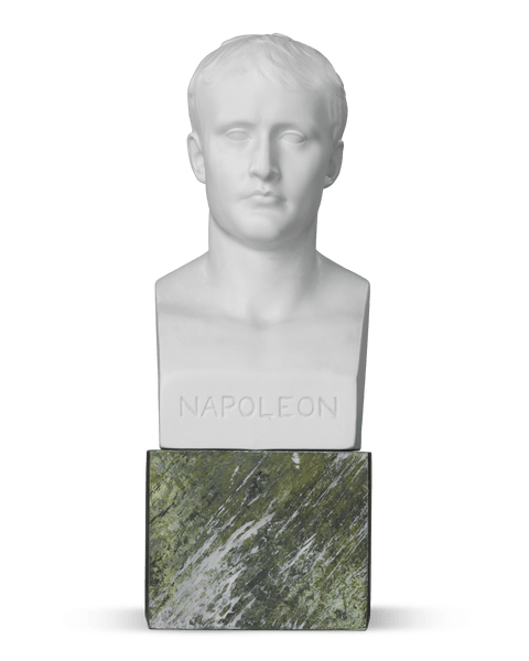 Bisque Porcelain Bust of Napoléon