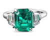 Colombian Emerald and Diamond Ring, 5.64 Carats