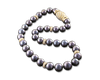 Tahitian Pearl and Diamond Necklace by Henry Dunay