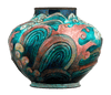 Ocean Waves Vase by Camille Fauré
