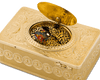 Swiss Gold Singing Bird Box by Bruguier