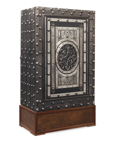 19th-Century Northern Italian Hobnail Safe