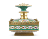 Jacob Petit  Miniature Porcelain Perfume Bottle