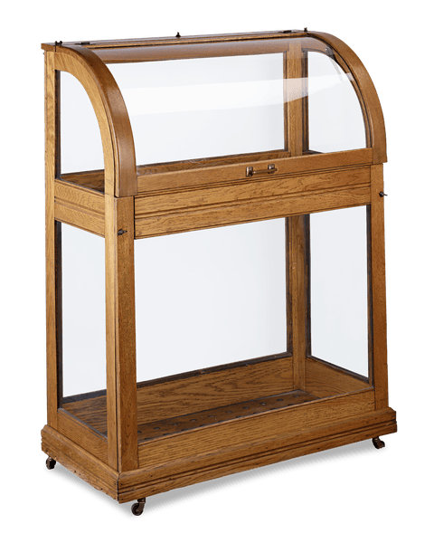 Cane Display Cabinet