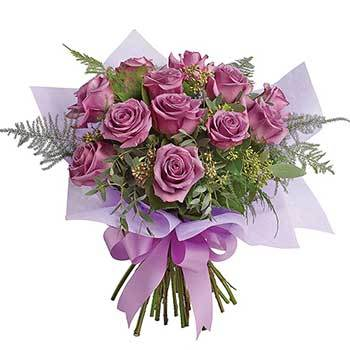 Buy lavender colour flower arrangements | Delivery included