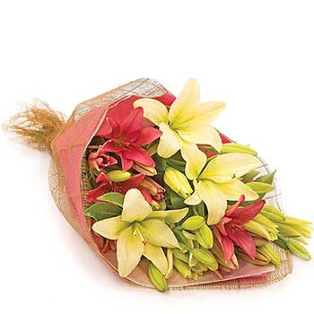 Buy all lily bouquet - Best seller