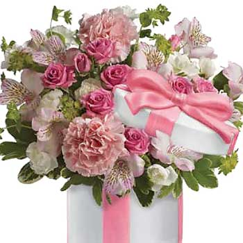 Buy blooming pretty flower box