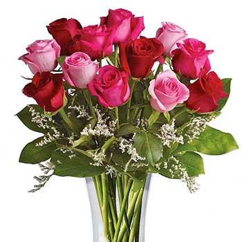 Send flowers to say i love you with vase