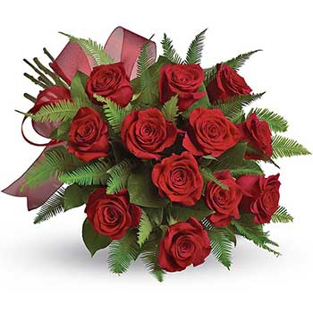 Send a bouquet of one dozen red roses in Australia