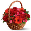 Buy little red riding hood fairy tale flower basket