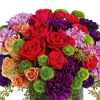 Buy an extra special generous flower display