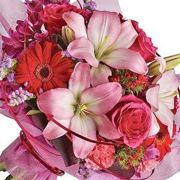 Feminine Chic Flowers Florist Fresh