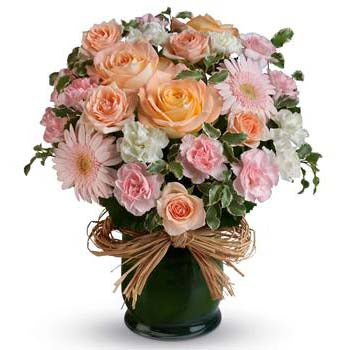 Lovely feminine pastel flowers