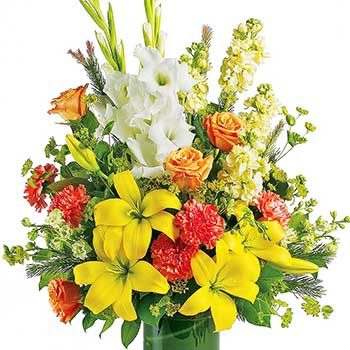 Send fond farewell funeral flowers