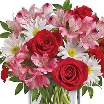 Buy romantic mixed flowers