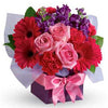 Send stunning boxed flower celebration present