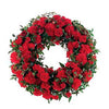 Order red ANZAC wreath remembrance flowers