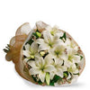 Send flowers to say farewell - White sympathy bouquet