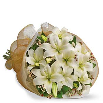 Buy simple white delicate chic flowers - best seller