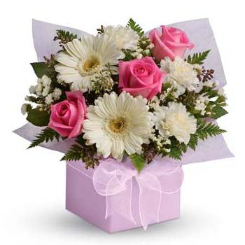 Sophisticated Lady Flower Gift Box
