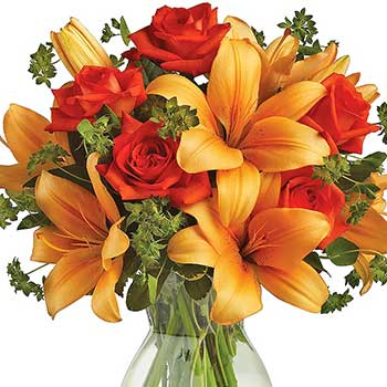 Buy Australian sunset flower arrangement