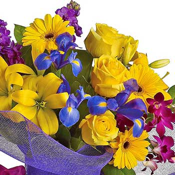 Send special day celebration flower bouquet
