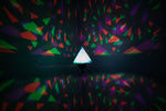 Geometric Pyramid Kinetic Shadow Lamp
