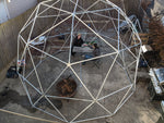 Thunder Domes- Geodesic Hammock Dome Steel Pipe 2V