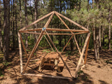 Thunder Domes: 1V Geodesic Dome Hub Kit