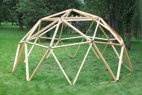Thunder Domes: 2V Geodesic Dome Hub Kit