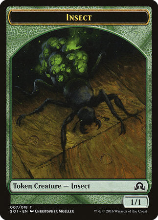 Insect Token [Shadows over Innistrad Tokens] | Rook's Games and More