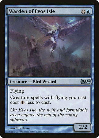 Warden of Evos Isle [Magic 2014] | Rook's Games and More