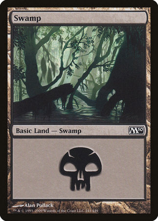 Swamp (241) [Magic 2010] | Rook's Games and More