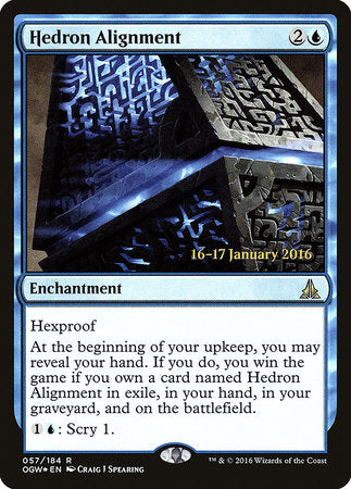 Hedron Alignment [Oath of the Gatewatch Promos] | Rook's Games and More