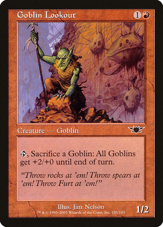Goblin Lookout [Legions] | Rook's Games and More