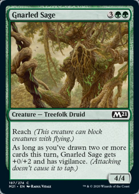 Gnarled Sage [Core Set 2021] | Rook's Games and More