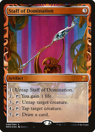 Staff of Domination [Kaladesh Inventions] | Rook's Games and More